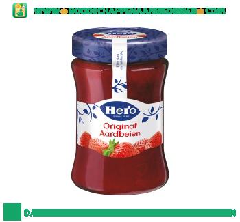 Hero Jam aardbeien aanbieding