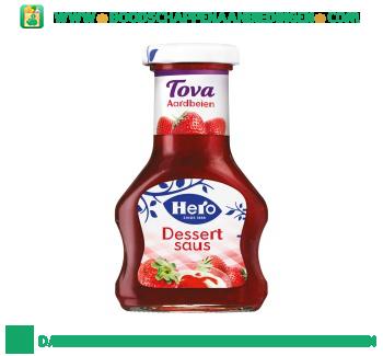 Hero Tova dessertsaus aardbeien aanbieding
