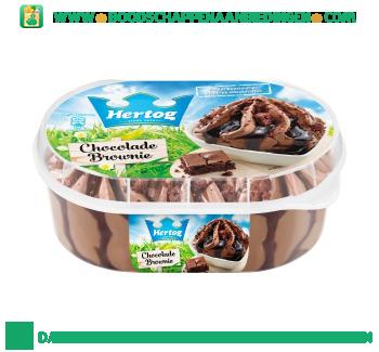 Hertog IJs Chocolade Brownie aanbieding