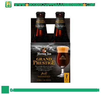 Hertog Jan Grand prestige pak 4 flesjes aanbieding