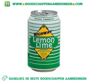 Highway Lemon lime aanbieding
