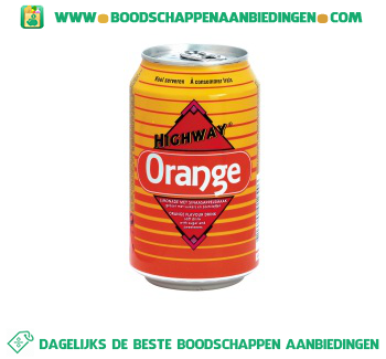 Highway Orange aanbieding