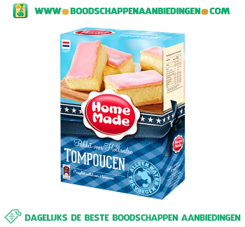 Home Made Complete mix tompoucen aanbieding