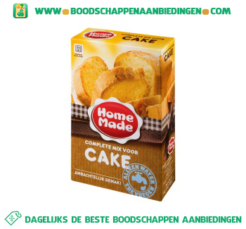 Home Made Complete mix voor cake aanbieding