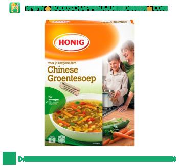Chinese groentesoep aanbieding