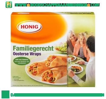 Honig Familiegerecht Oosterse wraps aanbieding