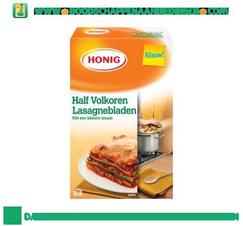 Honig Lasagnebladen half volkoren aanbieding