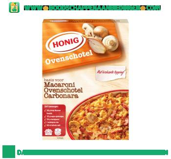 Honig Macaroni ovenschotel carbonara aanbieding