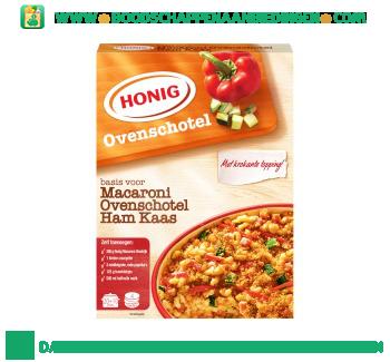 Honig Macaroni ovenschotel ham/kaas aanbieding