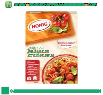 Honig Mix voor Italiaanse kruidensaus aanbieding