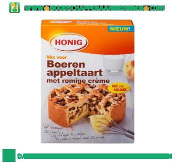 Honig Mix voor boerenappeltaart met romige crème aanbieding