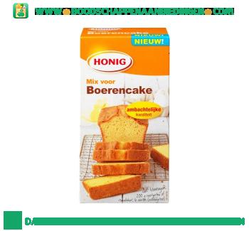 Honig Mix voor boerencake aanbieding