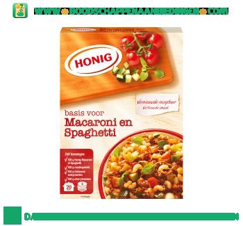 Honig Mix voor macaroni en spaghetti aanbieding