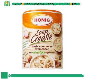 Honig Soep creatie basis voor verse crèmesoep aanbieding