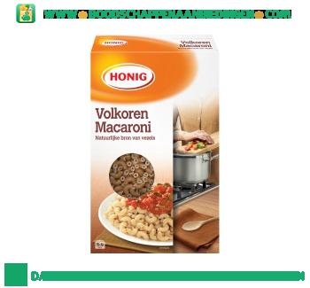 Honig Volkoren macaroni aanbieding