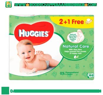 Huggies Babydoekjes natural care aanbieding
