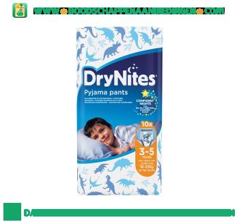 Huggies Dry nites 3-5 boy aanbieding