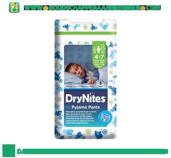 Huggies Dry nites 4-7 boy aanbieding