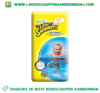 Huggies Little swimmers 2-3 aanbieding