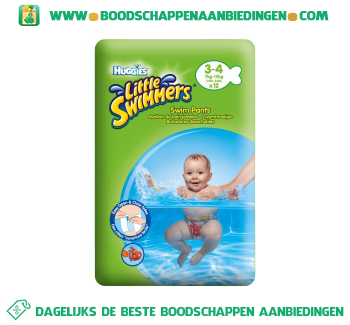 Huggies Little swimmers 3-4 aanbieding