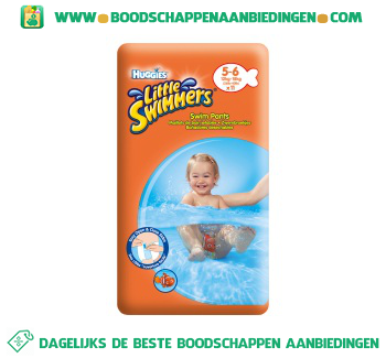 Huggies Little swimmers 5-6 aanbieding