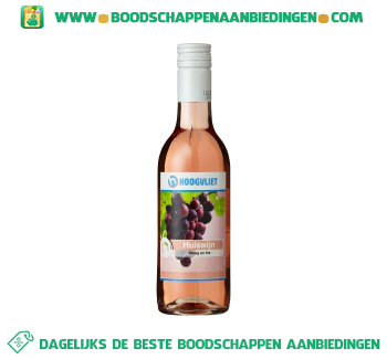 Huiswijn rosé aanbieding