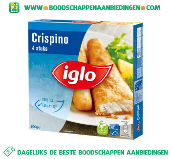 Iglo Crispino aanbieding