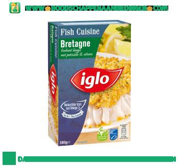 Iglo Fish Cuisine Bretagne aanbieding