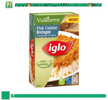 Iglo Fish Cuisine Bretagne volkoren aanbieding