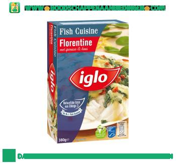 Iglo Fish Cuisine Florentine aanbieding
