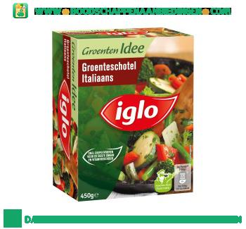 Iglo Groenteschotel Italiaans aanbieding