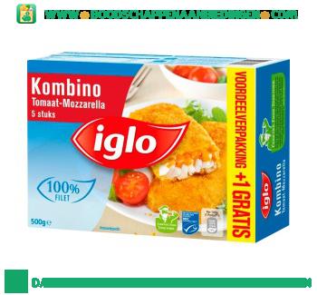 Iglo Kombino tomaat en mozzarella aanbieding