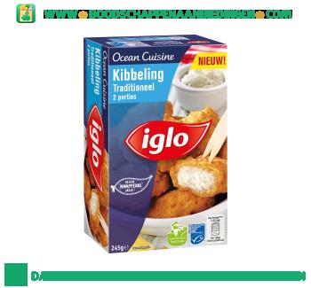 Iglo Ocean Cuisine kibbeling traditioneel aanbieding