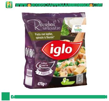 Iglo_Pasta_met_kipfilet,_spinazie_en_Boursin_aanbieding