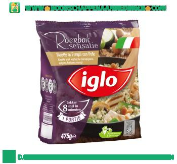 Iglo Risotto met kipfilet en champignons aanbieding