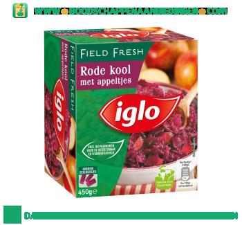 Iglo Rode kool met appeltjes aanbieding