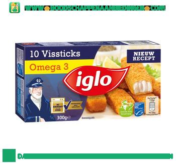 Iglo Vissticks omega 3 aanbieding