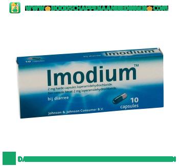Imodium Capsules aanbieding