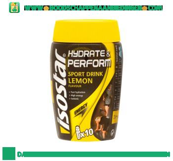 Isostar Sport drink lemon aanbieding