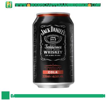 Jack Daniels Whiskey & cola aanbieding