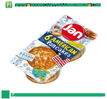 Jan Amerikaanse pancakes aanbieding
