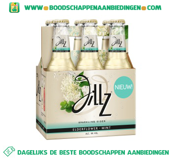 Jillz Elderflower aanbieding