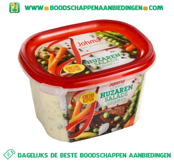 Johma Huzaren salade aanbieding