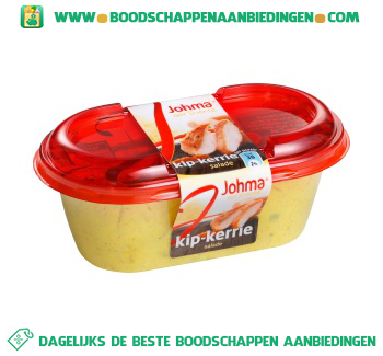 Johma Kip-kerrie salade aanbieding