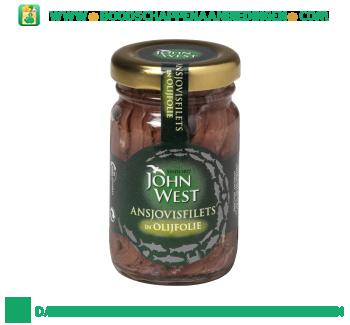 John West Ansjovisfilet in olijfolie aanbieding