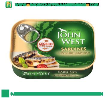 John West Gegrilde sardines aanbieding