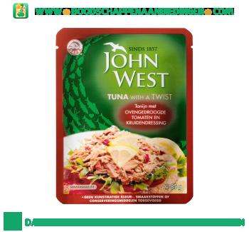 John West Tonijn met ovengedroogde tomaten en kruidendressing aanbieding