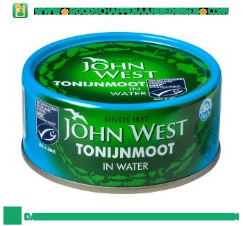 John West Tonijnmoot in water aanbieding