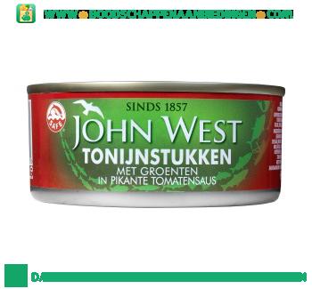 John West Tonijnstukken met groenten aanbieding