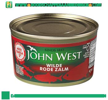John West Wilde rode zalm met omega 3 aanbieding